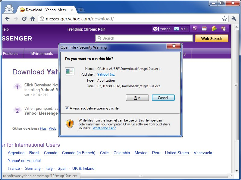 Make http www yahoo com my browser home page i make yahoo my